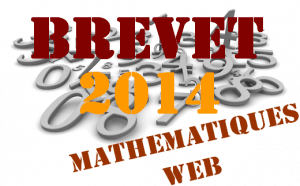 Brevet de maths 2014 au Liban
